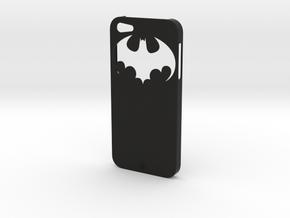 iPhone 5 Batman Case in Black Strong & Flexible