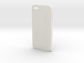 iPhone 5 Think Case in White Natural Versatile Plastic