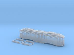 Tram Leipzig Spur TT (1:120) Mitteleinstiegstriebw in Smooth Fine Detail Plastic