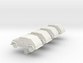 Z Scale  VW181 in White Natural Versatile Plastic