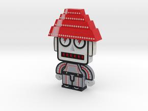 DevoBots Series 1 B/W & Red STRIPE Jerry in Full Color Sandstone