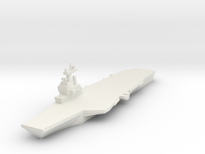 Charles de Gaulle CVN 1:1800 x1 in White Strong & Flexible