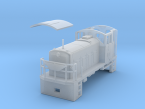 PBR D21(OO9/1:76.2 Scale) in Smooth Fine Detail Plastic