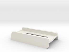 Saberstrip hotshoe enhancer in White Natural Versatile Plastic