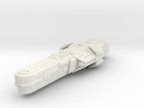 Bothan Battleship in White Strong & Flexible