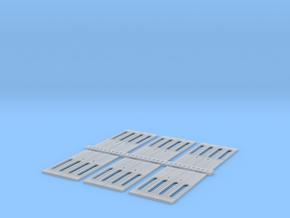 Eit päätyovi kapea 6 kpl. in Smooth Fine Detail Plastic