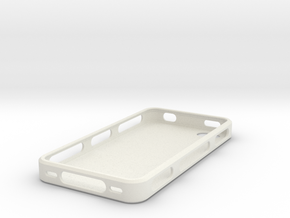 IPhone 4, 4S Bumper - Portuguese Tiles in White Strong & Flexible