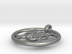 Chaldene pendant in Natural Silver