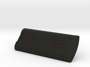 PS3 bluray remote battery cover in Black Natural Versatile Plastic
