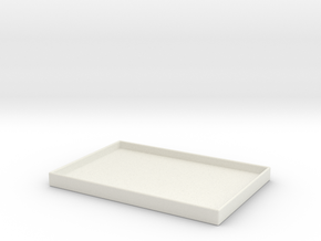 TruColor Tray v2 in White Natural Versatile Plastic