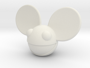 "3.25"" Mau5head (cH-SWDM5) in White Natural Versatile Plastic"