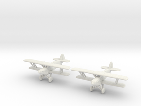 1/200 Avia B-534 (x2) in White Natural Versatile Plastic
