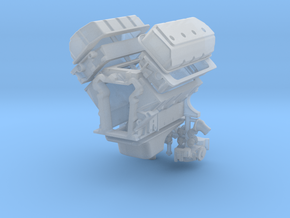 1/12 426 Hemi Basic Block Kit in Frosted Ultra Detail