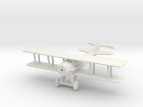 1/144 SPAD S.XII in White Natural Versatile Plastic