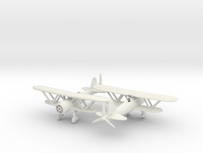 1/200 Fiat CR.42 in White Strong & Flexible