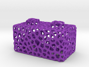 Seej Bloxen, Voronoi in Purple Strong & Flexible Polished