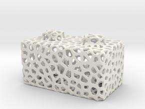 Seej Bloxen, Voronoi in White Natural Versatile Plastic