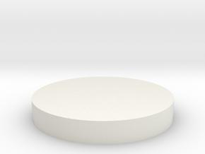 parabolic horn cap in White Natural Versatile Plastic