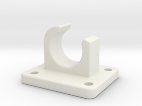 Sink Bracket Angular21_2 in White Natural Versatile Plastic