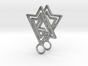 Star of David in Natural Silver