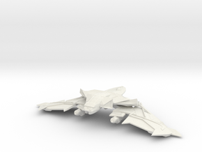 FireBat Class Cruiser in White Natural Versatile Plastic