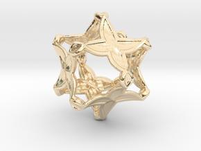 Artefact 4D in 14K Yellow Gold