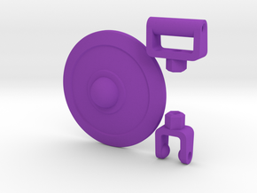ModiBot Buckler Shield Kit in Purple Strong & Flexible Polished