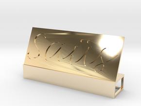 Saüs V.2 in 14K Yellow Gold