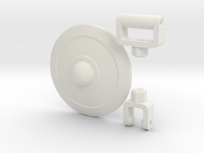 Buckler Shield Kit for ModiBot  in White Strong & Flexible