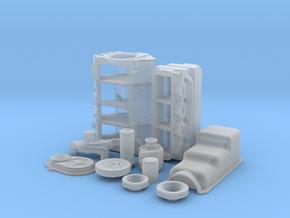 1/24 BBC Basic Block Kit (No Mech Fuel Pump) in Smooth Fine Detail Plastic