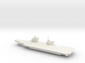 1/700 Queen Elizabeth Class Aircraft Carrier in White Natural Versatile Plastic