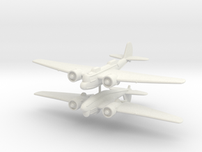 1/200 Martin B-10 (x2) in White Natural Versatile Plastic