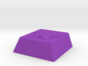 Cherry MX Starman Keycap in Purple Processed Versatile Plastic