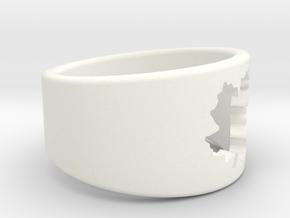 SugarMaple - Size 8 in White Processed Versatile Plastic