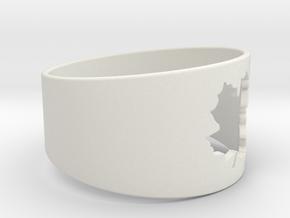 SugarMaple - Size 1 in White Natural Versatile Plastic