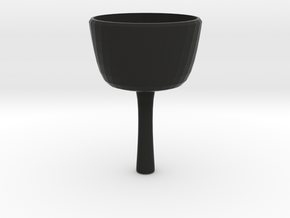 Wine Glass in Black Strong & Flexible