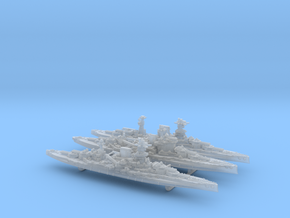 1/3000 WW2 Queen Elizabeth class BBs (3 of 5) in Frosted Ultra Detail