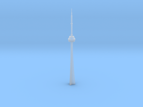 CN Tower in Smooth Fine Detail Plastic
