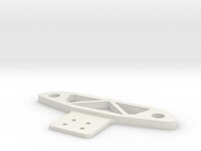 micro-t front bumper in White Natural Versatile Plastic