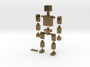 BlockGuy in Natural Bronze
