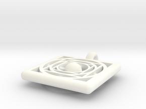 pendant opus 755 in White Processed Versatile Plastic