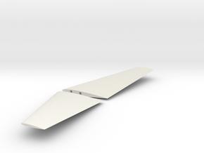 X305 Aircraft - Horizontal Tail in White Natural Versatile Plastic