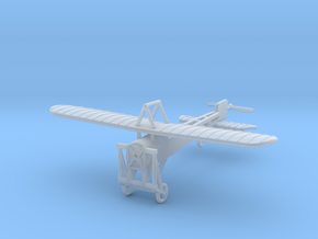 1/144 Bleriot XI Parasol in Smooth Fine Detail Plastic