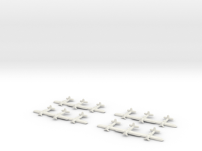 Arado Ar 196T-1 (Triplet) 1:900 x4 in White Natural Versatile Plastic