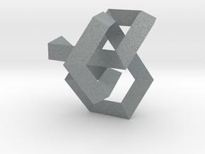 Balancing Act I (Small) in Polished Metallic Plastic