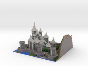 Castle Lividus of Aeritus 2 in Full Color Sandstone