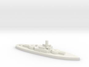 Montery (BM-6) 1:2400 x1 in White Natural Versatile Plastic