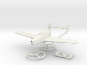 1/144 Fokker D.XXIII in White Natural Versatile Plastic