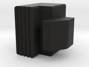 A&K MASADA Stock Button in Black Natural Versatile Plastic