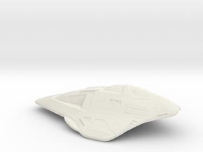 Delta Scale in White Natural Versatile Plastic